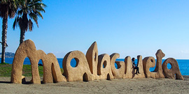 Spanish courses in Malaga - Beaches