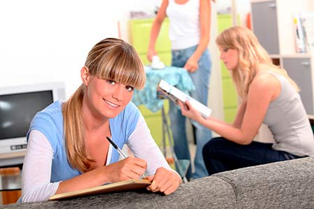 Accommodation for students in Malaga, shared self-catering apartments for students, accommodation in Malaga