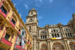 Travel in Málaga to see the Cathedral in real life. It has a wide history and many architecture styles