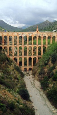 In Nerja you can also find the Eagle Aqueduct. A must seen spot!